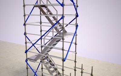 4.5m Access Stair