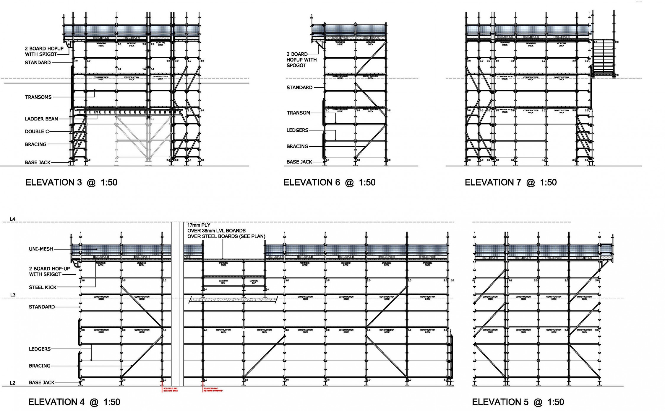 Scaffold designs 9 design Create a blueprint