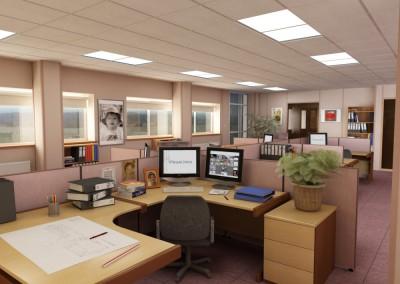 Hawkins Office Desk View 1