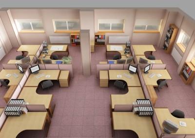 Hawkins Office Plan View 1