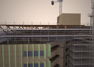 Helideck Scaffold Render 2